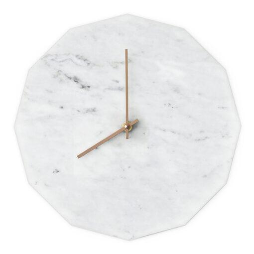 Dette er vores Marble Bianco model med kobber visere