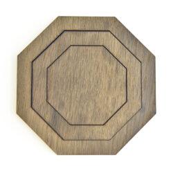 Produktbillede af vores Octo bordskåner i Dark Oak