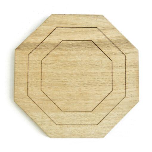 Produkt af vores Octo bordskåner i Light Oak