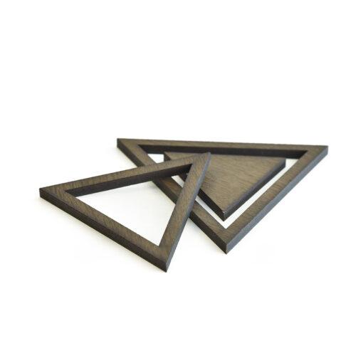 Produkt af vores Triangle bordskåner i Dark Oak