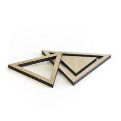 Produkt af vores Triangle bordskåner i Light Oak