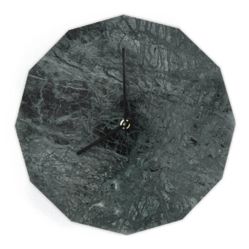 Dette er vores Marble Verde model med sorte visere